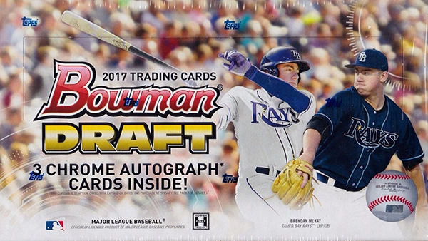 2017 Bowman Draft Baseball Hobby Box