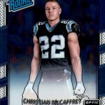 2017 Donruss Optic Football Base Rated Rookie Christian McCaffrey