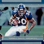 2017 Donruss Optic Football Inducted Terrell Davis
