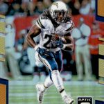 2017 Donruss Optic Football Orange Melvin Gordon
