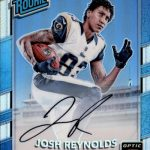 2017 Donruss Optic Football Rated Rookie Autographs Holo Josh Reynolds