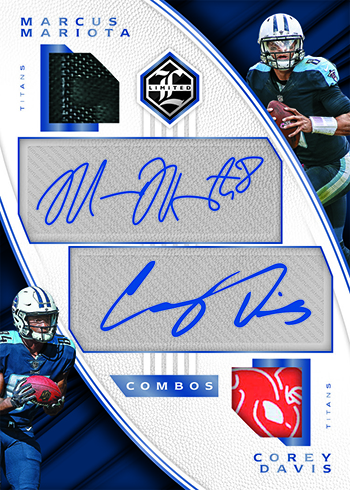 0053df61c Limited Partnership cards come with two and three signatures. Most  combinations are of players from the same franchise