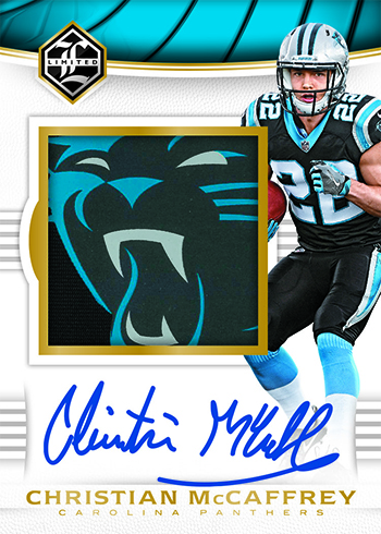 2017 Panini Limited Football Rookie Patch Autographs Variations