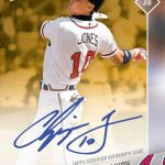 OS-89E Chipper Jones Auto 1/1