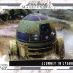 2017 Topps Star Wars Masterwork Adventures of R2-D2 Dagobah