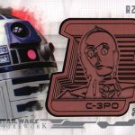 2017 Topps Star Wars Masterwork Droid Medallion