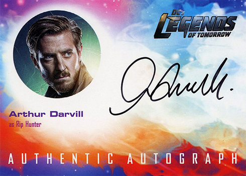 2018 Cryptozoic Legends of Tomorrow Seasons 1 and 2 Arthur Darvill Autograph