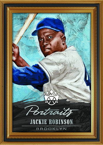 2018 Panini Diamond Kings Portraits Jackie Robinson