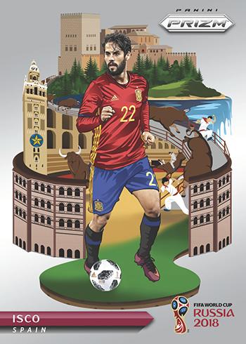 2018 Panini Prizm World Cup Soccer National Landmarks