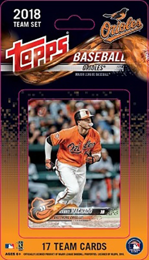2018 Topps Baseball Team Sets Checklist And Details