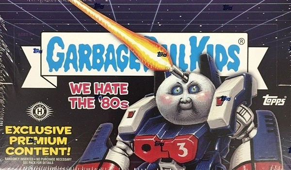 2018 Topps Garbage Pail Kids We Hate the 80s Hobby Collector Box