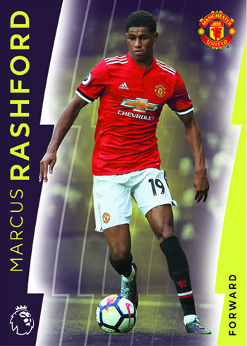 2018 Topps Platinum Premier League Soccer Base E
