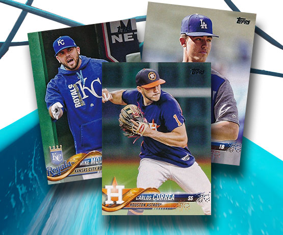 2018 Topps Series 1 Baseball Variations