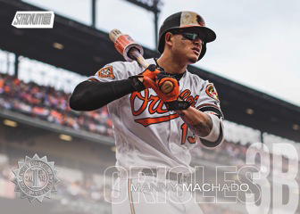 2018 Topps Stadium Club Baseball Members Only Manny Machado