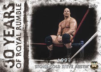 2018 Topps WWE Undisputed 30 Years of Royal Rumble