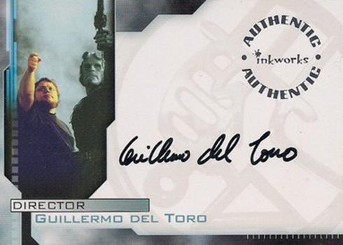 Hellboy Guillermo Del Toro Autograph