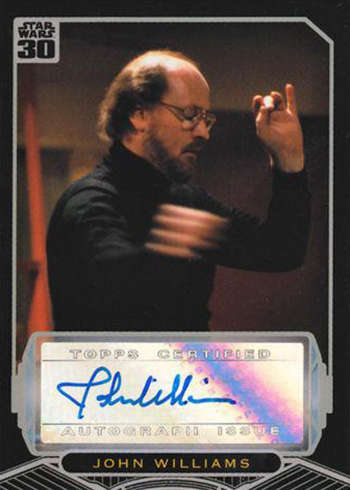 Star Wars 30th Anniversary John Williams Autograph
