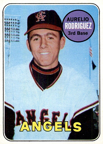 1969 Topps Baseball Aurelio Rodriguez