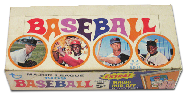 1969 Topps Baseball Box