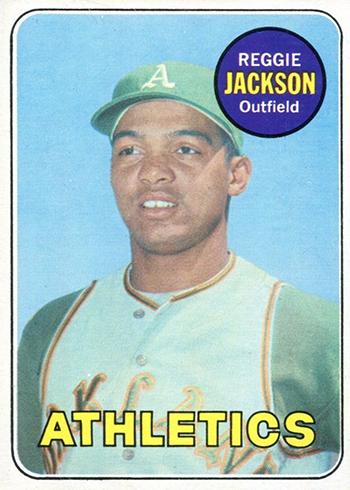 1969 Topps Reggie Jackson RC