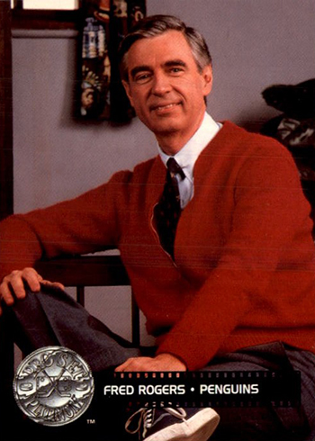 The Daily 1991 92 Pro Set Platinum Fred Rogers Beckett News
