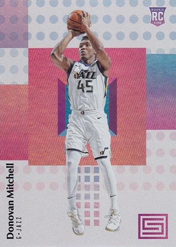 2017-18 Panini Status Basketball Donovan Mitchell RC