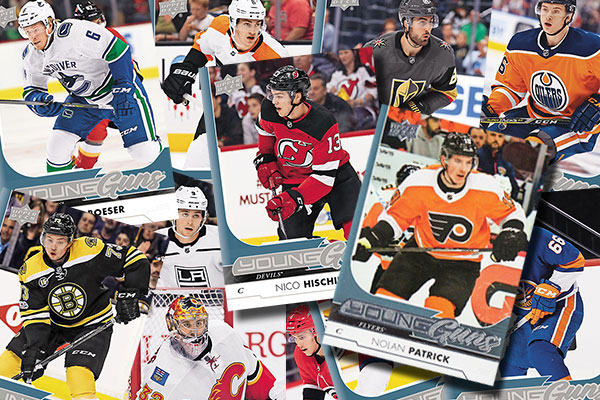 441a638911d Leading off the 2017-18 Upper Deck Young Guns checklist is New Jersey's Nico  Hischier, the first overall pick in the 2017 NHL Draft.