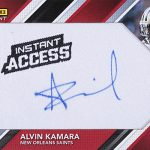 2017 Panini Instant Rookie Autograph Patches Alvin Kamara