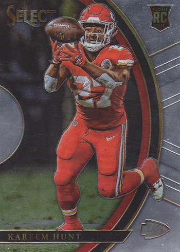 2017 Select Football Kareem Hunt Concourse