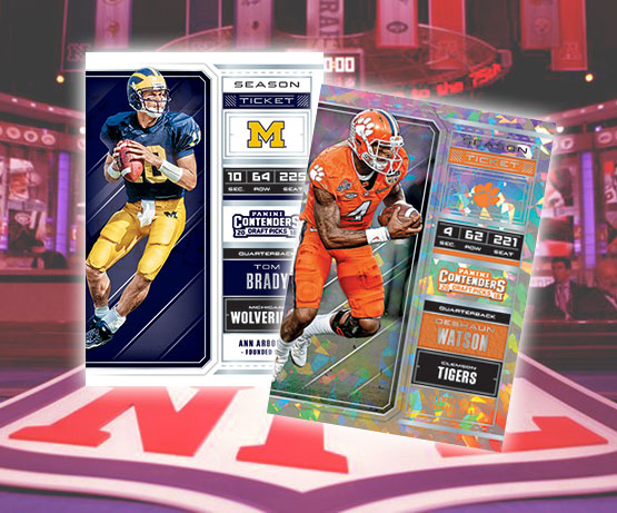 2018 Panini Contenders Draft Picks Football