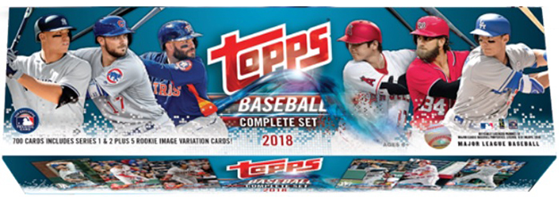 2018 Topps Baseball Retail Factory Set