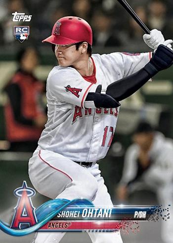 2018 Topps Baseball Team Sets Shohei Ohtani