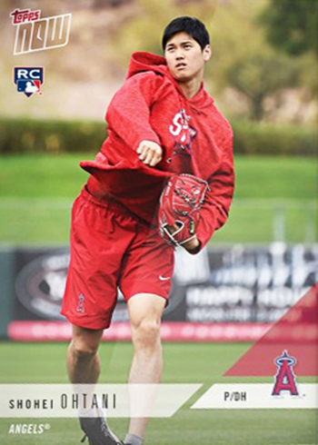 2018 Topps Now Road to Opening Day Shohei Ohtani