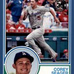 2018 Topps Series 1 Baseball 1983 Blue Corey Seager