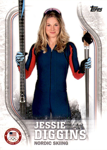 2018 Topps US Olympic Team Jessie Diggins