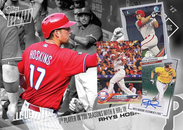 Rhys Hoskins Rookie Card Guide And Other Key Early Cards