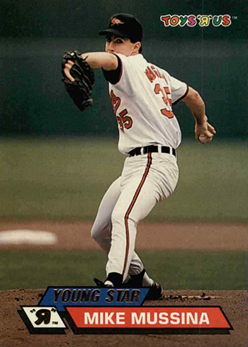 1993 Toys R Us Mike Mussina
