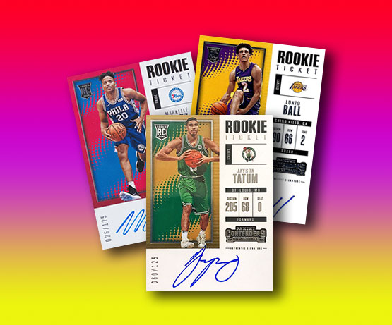 2017-18 Panini Contenders Basketball Rookie Ticket Autographs