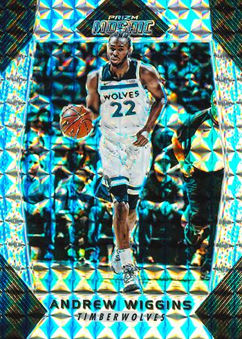 2017-18 Panini Mosaic Prizm Basketball Andrew Wiggins