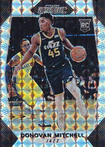 sports shoes 81caf 62e2e Donovan Mitchell Rookie Card Guide and Checklist