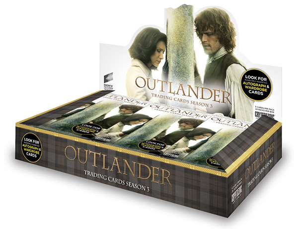 2018 Cryptozoic Outlander Season 3 Hobby Box