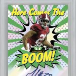 2018 Leaf Valiant Football Here Comes the Boom BGS 10