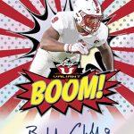 2018 Leaf Valiant Football Here Comes the Boom Bradley Chubb