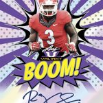 2018 Leaf Valiant Football Here Comes the Boom Roquan Smith