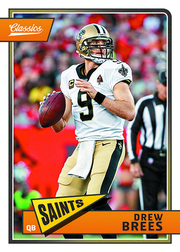 2018 Panini Classics Football Base Drew Brees