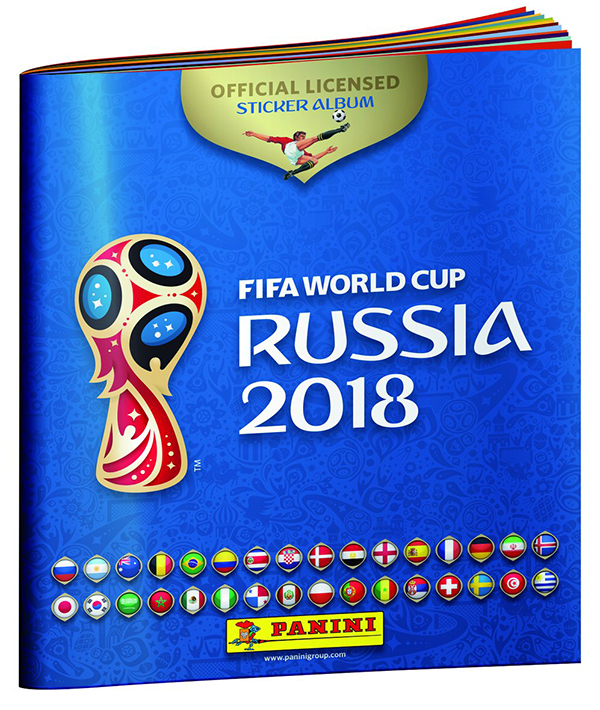 2018 Panini FIFA World Cup Sticker Album
