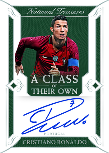 2018 Panini National Treasures Soccer Class of Their Own Autograph