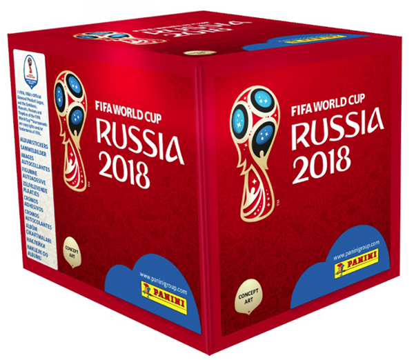 2018 Panini FIFA World Cup Stickers Box