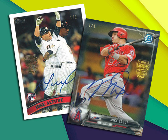 2018 Topps Archives Signature Series: Active Player Edition