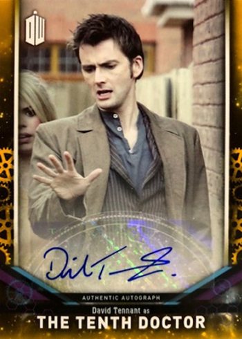 2018 Topps Doctor Who Signature Series David Tennant Autograph